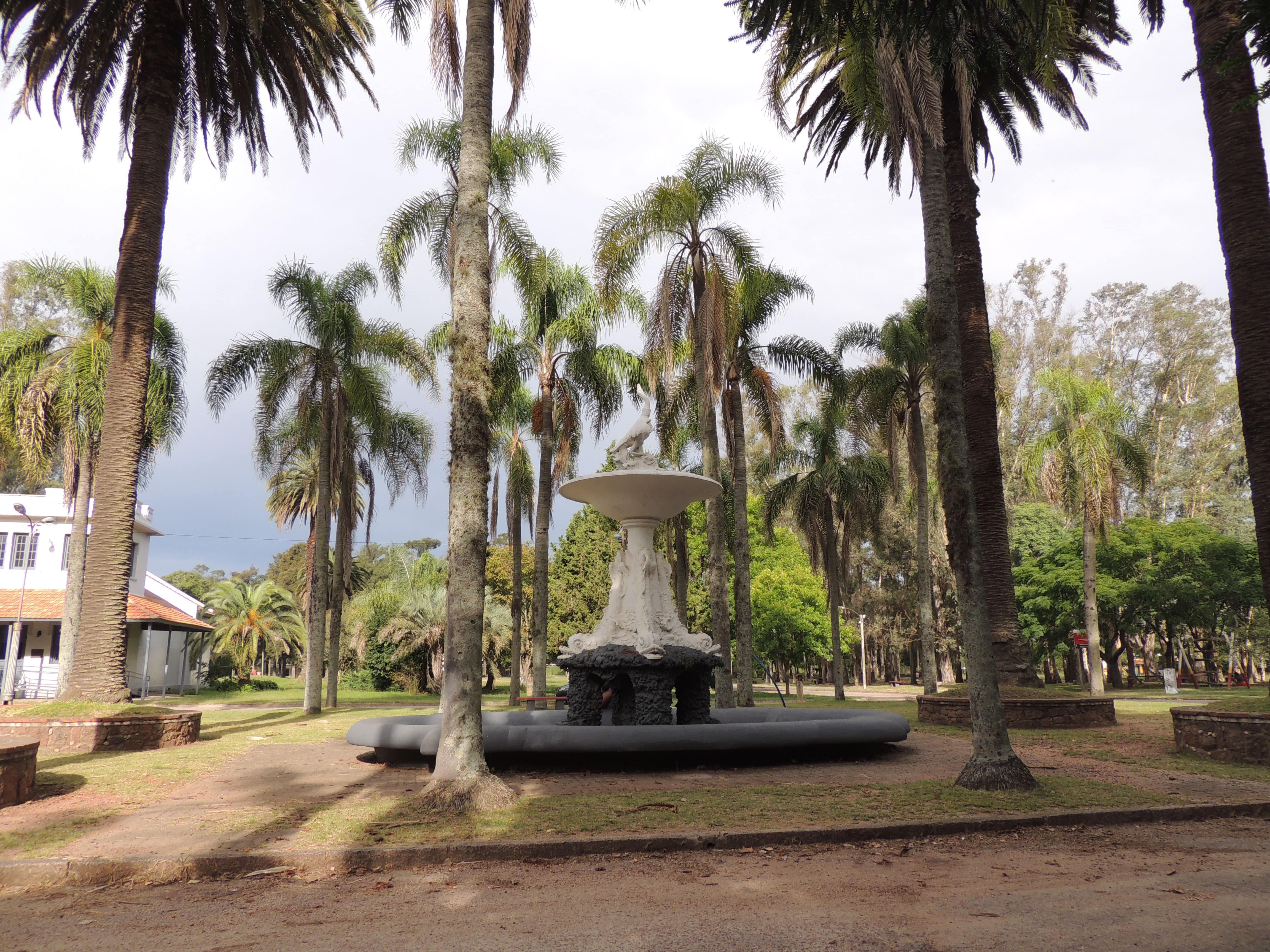 Fuente del cisne- Parque Artigas